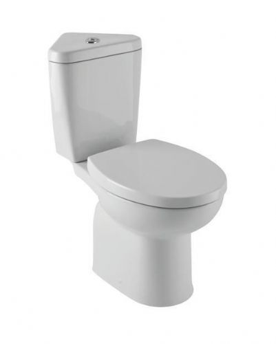 Eastbrook Lisbon Ii Corner Toilet & Soft Close Toilet Seat Inc Fittings